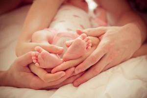 Ohumärgid beebi arengus (0-3 elukuu)